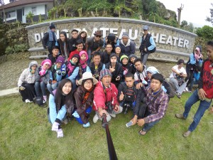 dieng plateau theater.